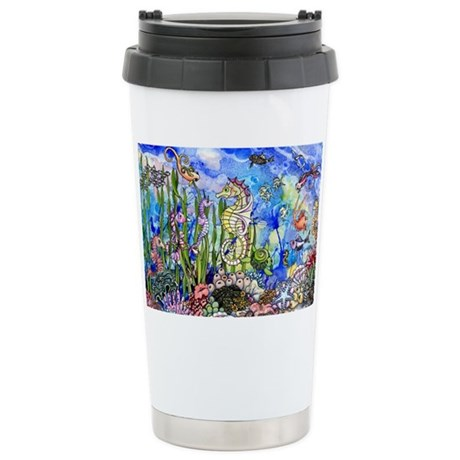 oceanlife Stainless Steel Travel Mug