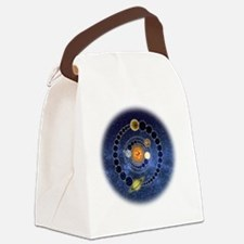 Two Mayan Calendar Endings Crop-C Canvas Lunch Bag