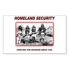 Homeland Security Native Decal