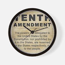 jan12_tenth_amendment_1 Wall Clock