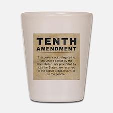 jan12_tenth_amendment_1 Shot Glass