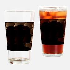 ShadesOfBeautySquare-02 Drinking Glass