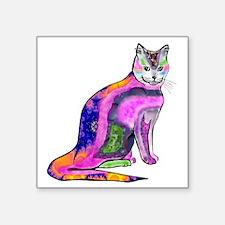 "wildcat Square Sticker 3"" x 3"""