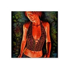 """GrungeQueen9-12 Square Sticker 3"""" x 3"""""""