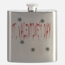 St Valentines Day Massacre Flask