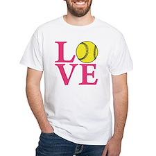 lt melon2, Softball LOVE Shirt
