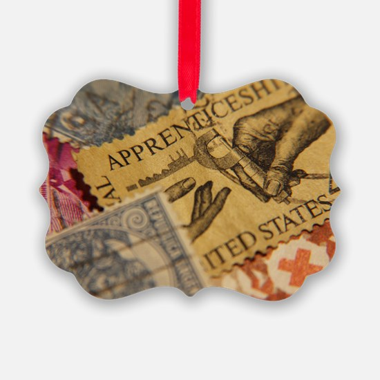 Stamps Ornament