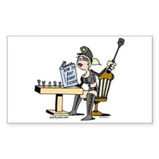 Beat Bobby Fischer Rectangle Bumper Stickers