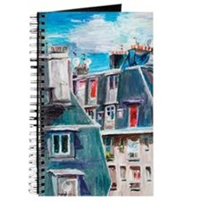 Roofs of Paris Journal