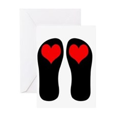 FF-hearts Greeting Card