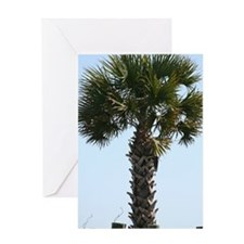 Hilton Head Palm Greeting Card