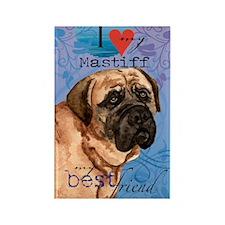 mastiff-kindle Rectangle Magnet