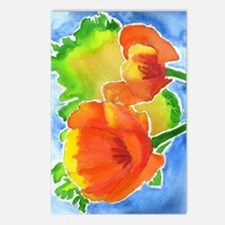 icelandic poppy 375 Postcards (Package of 8)