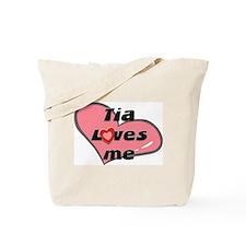 tia loves me Tote Bag