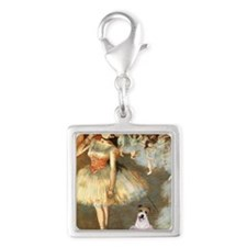 Z-16x20-Dancers-JackRussell11 Silver Square Charm