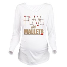 mallets percussion m Long Sleeve Maternity T-Shirt