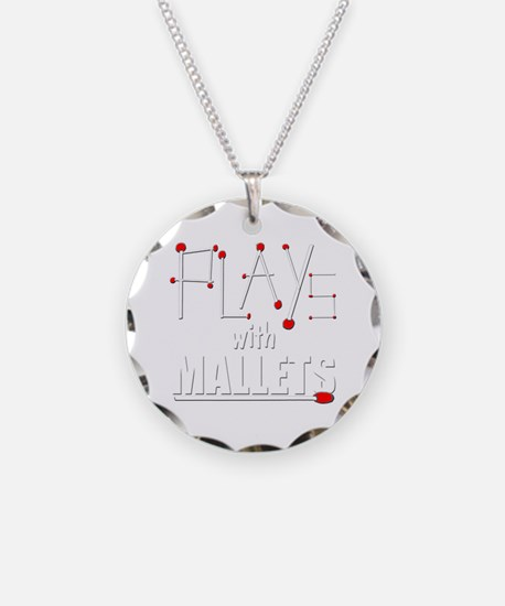 mallet percussion musical in Necklace Circle Charm