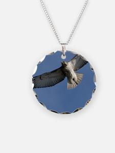 Juv Redtail Tile Necklace