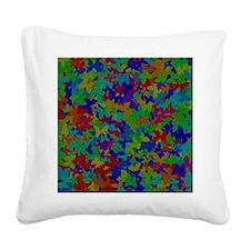 FF-butterflies Square Canvas Pillow