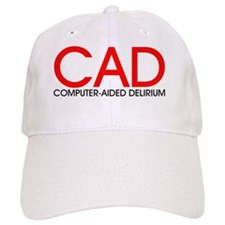 CAD red.black Baseball Cap