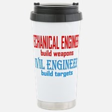 mechcivilengineers Stainless Steel Travel Mug