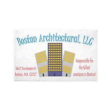 bostonarchitectural 3'x5' Area Rug