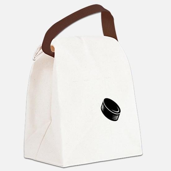 dropThePuck Canvas Lunch Bag