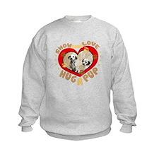 Hug a Pup Dalmations Sweatshirt