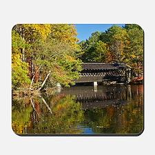 Stone Mountain Covered Bridge Mousepad
