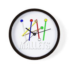 rainbow mallet percussion xylophone vib Wall Clock