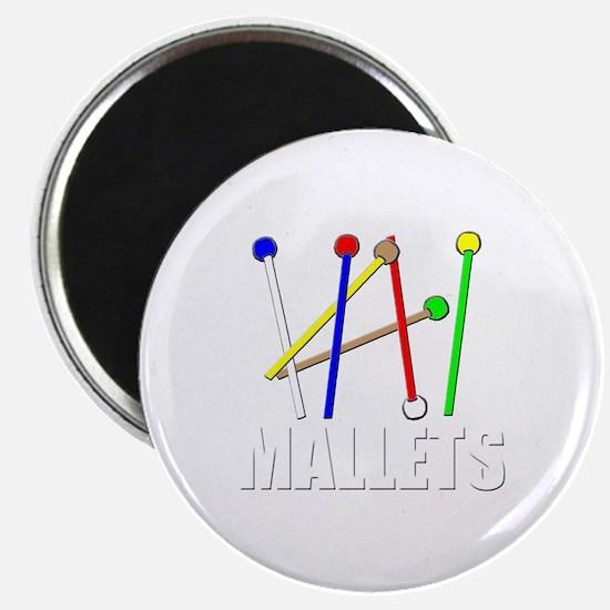rainbow mallet percussion xylophone vibe de Magnet