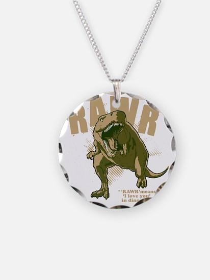 Rawr-Dinosaur-drk Necklace