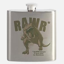 Rawr-Dinosaur Flask