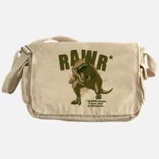Rawr-Dinosaur Messenger Bag