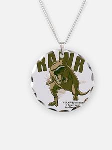 Rawr-Dinosaur Necklace