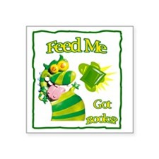 "Reading Month Got Books? Square Sticker 3"" x 3"""