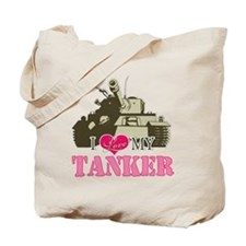 i love my tanker Tote Bag