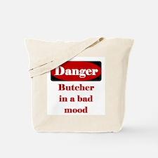 Danger Butcher In A Bad Mood Tote Bag