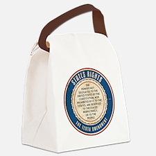 aug11_tenth_amendment Canvas Lunch Bag
