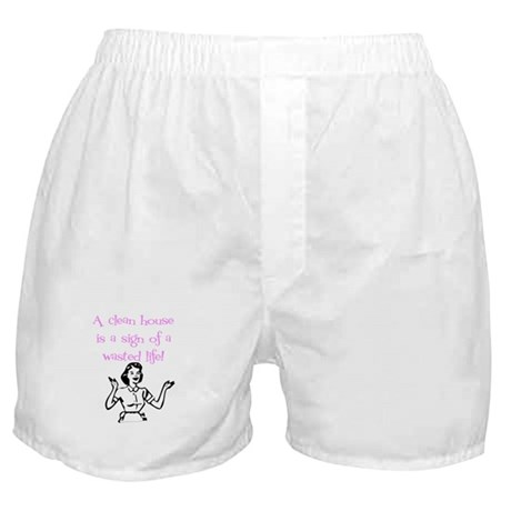 Sign Of A Wasted Life Boxer Shorts