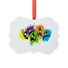 Dance Paint Ornament