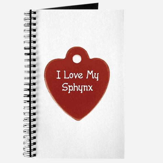 Love Sphynx Journal