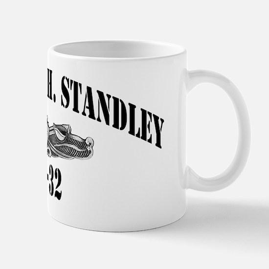 whstandley dl black letters Mug