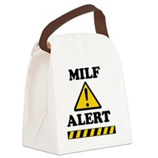 tee_milf Canvas Lunch Bag