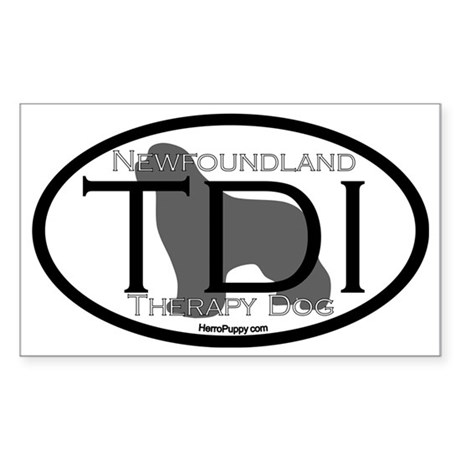 Newfoundland TDI Certification Sticker (Rectangle)