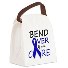 bend over 2 Canvas Lunch Bag