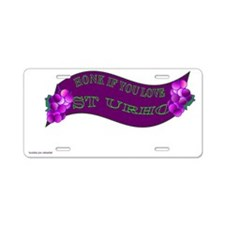 ST URHO Aluminum License Plate
