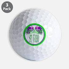 tuutata button Golf Ball