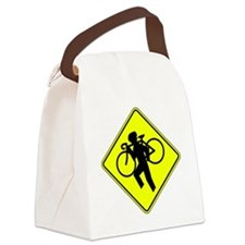 X-ING.gif Canvas Lunch Bag