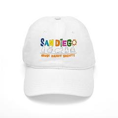 Orange San Diego Rabbits Baseball Cap